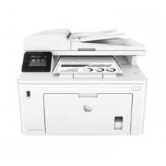 惠普M227FDW黑白激光打印机无线wifi自动双面打印复印扫描传真多功能四合一A4商用办公打印机复印一体机