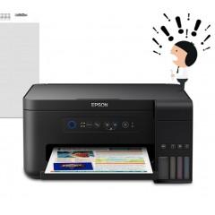 爱普生l4158/l4156彩色照片喷墨ope体育滚球办公打印机一体机小型学生无线wifi手机直连复印扫描原装墨仓式连供